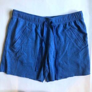 Victoria's Secret Pink Blue Sweat Short